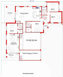 house granny flat plans fresh attached designs plan and remarkable with nz flats brisbane wa