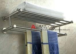 chrome bathroom towel rack wall mounted bath towel wall rack wall mount stainless steel nickel brushed
