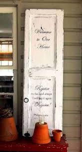 old door signs