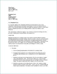 Letter Proposal Format Impressive Business Proposal Format Metalrus