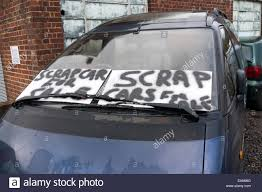 For Sale Sign On Car Car Sale Sign Stock Photos Car Sale Sign Stock Images Alamy