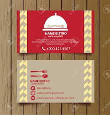 Business Card Template For Restaurant Business Royalty Free Cliparts