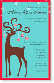 christmas invitations christmas invitations for special events reindeer themed products