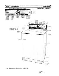 tag a806 timer stove clocks and appliance timers a806 washer front view series 1 parts diagram