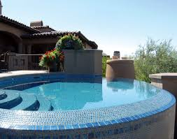types of tile for swimming pool finishes