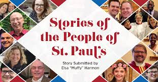 """Stories of the People of St. Pauls - The Story of Elsa """"Muffy"""" Harmon"""