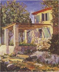 churchill painting at eze sur mer 2