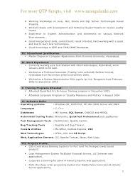 automation test engineer resume automation test engineer sample resume  resume testing sap hp 2 best resume