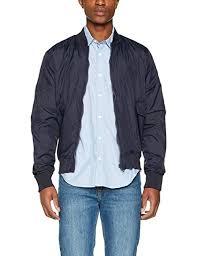 French Connection Mens Classic Baseball Jacket Amazon Co