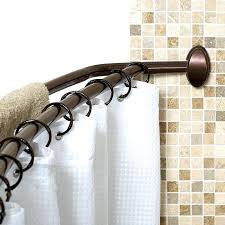 curved shower curtain never rust curved shower curtain rod curved shower curtain rod brushed nickel