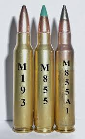 ผลการค้นหารูปภาพสำหรับ m855a1 ammo