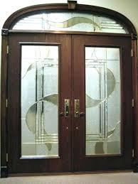 exterior door glass inserts frosted glass exterior door interior doors home depot with panel medium size