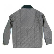 grange quilted jacket charcoal