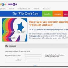 toys r us credit card pay billingss