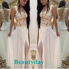 bohemian hippie wedding dresses beach a line wedding dress