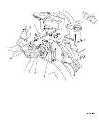 1997 dodge grand caravan emission control vacuum harness thumbnail 3