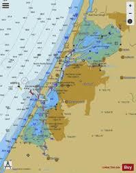 Humboldt Bay Marine Chart Us18622_p1809 Nautical