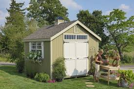 colonial wooden outdoor garden shed kit 10 x 10 1010 wcgs wpnk 10 10x10 garden shed