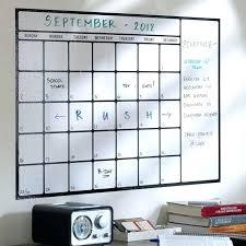 large dry erase calendar wall decal large dry erase board calendar whiteboard calendar large dry erase