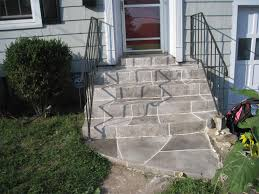 concrete front steps in hamden ct 06514 stamped concrete patio with stairs t1 patio
