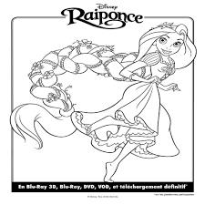 Coloriage Princesse Raiponce Imprimer Avec Jeux De Coloriage De