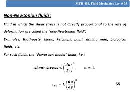 non newtonian fluid examples. 5 non-newtonian fluids: non newtonian fluid examples .