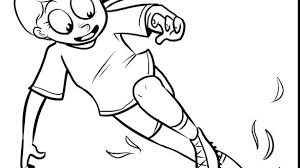 I Love Soccer Coloring Pages Girl Book Luxury Extraordinary Player