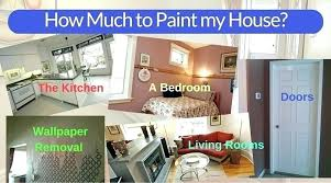 how much to paint a two bedroom apartment cost to paint a bedroom cost of painting