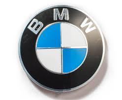 Bmw Genuine Alloy 70mm Badge