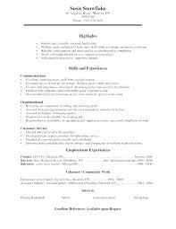 Format Resume For Job View Sample Curriculum Vitae Format For Job ...
