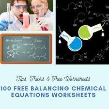 100 balancing chemical equations