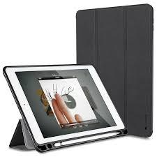 For Apple iPad Pro 10.5 Case Leather Slim Smart Cover Pencil Holder Wake Sleep