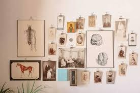 creative ways to hang photos without frames