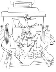 Trains Coloriages Des Transports