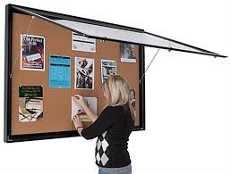 enclosed bulletin board cabinet enclosed bulletin board cabinet
