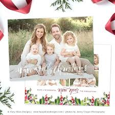 christmas card collage templates free christmas picture collage template