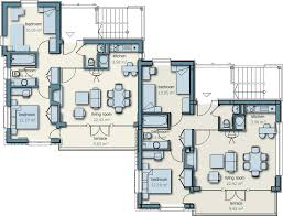 ... Semi Detached House Layout Plan Hbk Infrastructures Nagpur 9 Merry Row  House 3d Plans Home Pattern ...