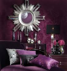 Purple Color Bedroom Dark Purple Bedroom Walls