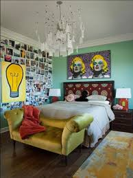 Marilyn Monroe Bedroom Bedroom Bedroom With Wooden Cabinet And Also Photographs Sticked