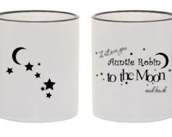 the office star mug. Personalized / Custom Coffee Ceramic Mug Gift Idea I Love You To The Moon And Back Office Star
