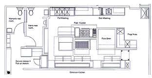 Restaurant Kitchen Equipment Layout Design Robert Rooze Food Facilities Kitchens Throughout Beautiful Ideas