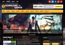 Video Website Template Magnificent Games Template BTemplates