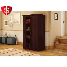 Furniture Kitchen Pantry 2 Door Storage Cabinet Wood Lock Kitchen Pantry Organizer Bathroom
