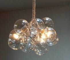 jean designs bubble chandelier glass uk