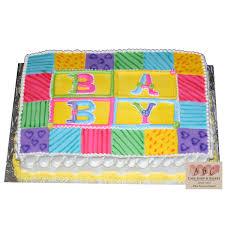 2067) Baby Shower Quilt Sheet Cake - ABC Cake Shop & Bakery & (2067) Baby Shower Quilt Sheet Cake Adamdwight.com