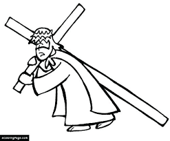 Coloring Page Of A Cross Stained Glass Cross Coloring Page Coloring