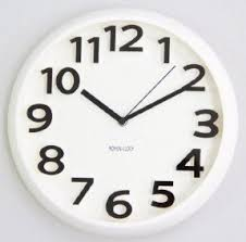 Small Picture White Wall Clocks Foter