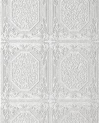 Wit Behang Reliëf Behang Edem 101 00 Voor Muur En Plafond Zware
