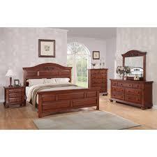 Montana Cherry 6 Piece Queen Bedroom Set
