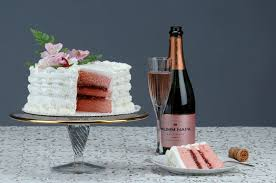 The Pink Champagne Cake From Victorian Cake Company Victorian Cake